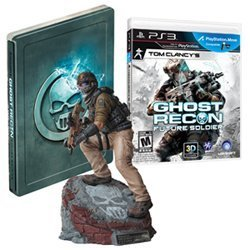 Ghost Recon: Future Soldier Limited Edition Video Game + Bonus Statue + Steelbook [PlayStation 3] New