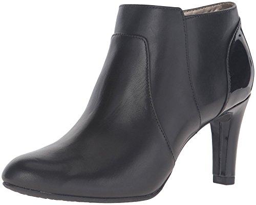 Bandolino Women's Liron Ankle Bootie, Black, 10 M ()