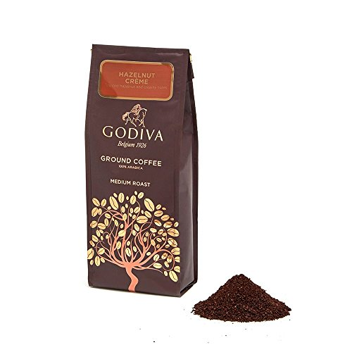 Godiva Chocolate Biscuits (GODIVA Chocolatier Ground Coffee, Hazelnut Creme, Great for any gift, 10 Ounce)