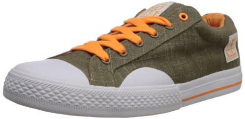 Women's Canvas Orange Wear Street Neon Lo Vision Linen ZqxEftaZw