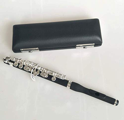 great piccolo c key silver plated nice sound and technique