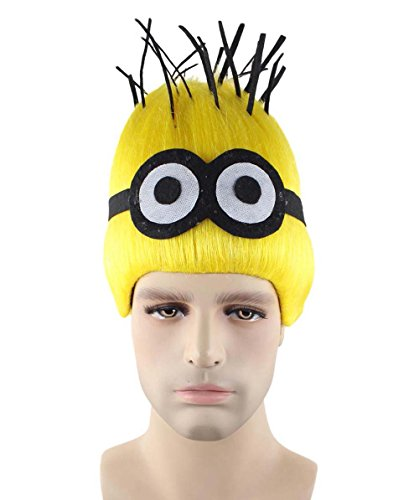 Halloween Party Online Wig for Cosplay Minions Dave Adult HM-334 -