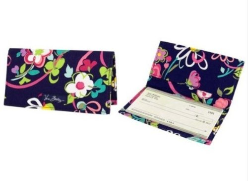 Vera Bradley Checkbook Cover - Vera Bradley Checkbook Cover in Ribbons