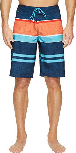Reef Mens Layered Boardshort Size 34 Navy