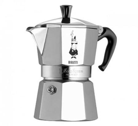 Bialetti Moka Express, Plata - Cafetera Italiana: Amazon.es ...