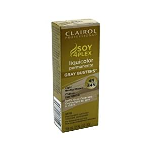 Clairol Professional Liquicolor Permanent 4N/84N Light Neutral Brown 2 Ounce (59ml) (2 Pack)