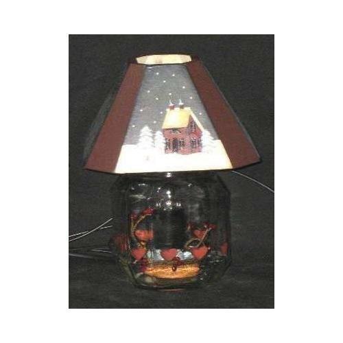 Old&New LAMPADA IN VETRO CON PAESAGGIO OLD & NEW S.R.L.