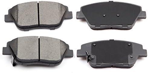 Front Rear Ceramic Brake Pads Fits 2011-2015 Hyundai Sonata 11-14 Kia Optima