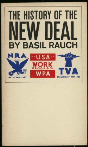The history of the new deal, 1933-1938 (Capricorn books)