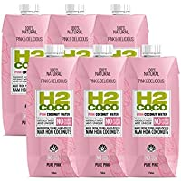 H2coco Pure Pink Coconut Water, 750ml x 6