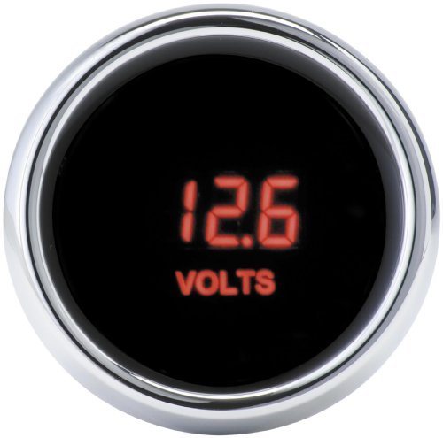 Dakota Digital MCL-3000 Series 2-1/16 in. Volt Meter for Harley Davidson 1996-2 by Dakota Digital