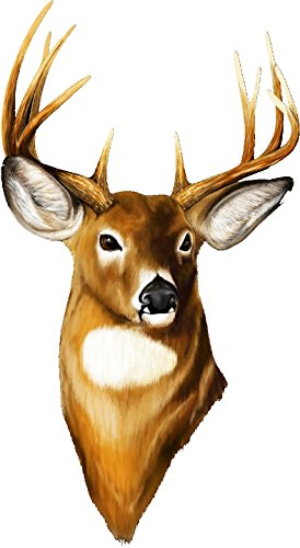 Deer Buck Head Wall Decal Hunting Camo Doe Movable Stickers Vinyl Wall Stickers