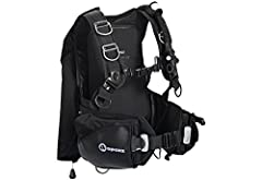 The Apeks Black Ice is a rugged, weight-integrated, back inflation BC designed with the advanced diver in mind. Despite its heavy duty construction, it provides amazing comfort, fit and stability thanks to its Wrapture Harness System (pat. pe...