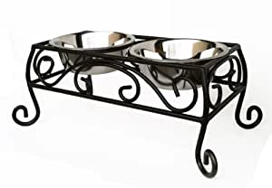 Pets Stop Noblesse Double Diner - Bronze - Large
