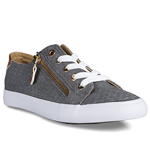 twisted-womens-kix-canvas-sneakers-with-decorative-zippers-kixlo200charcoal-size-9
