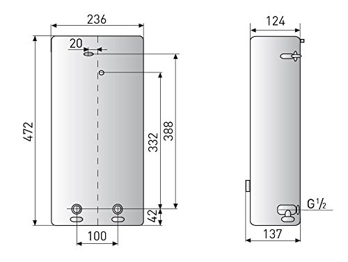 Ark Solar calentador de agua 21 kW, regulado calentador electrónico para el suministro una o de múltiples tomas espacios: Amazon.es: Iluminación
