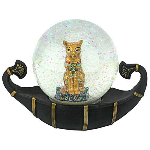 - Design Toscano Bastet Cat Goddess of The Nile Water Globe Sculpture