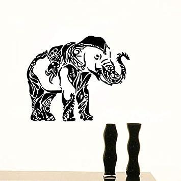 Etiqueta de la pared calcomanías de vinilo pegatinas Ganesha ...