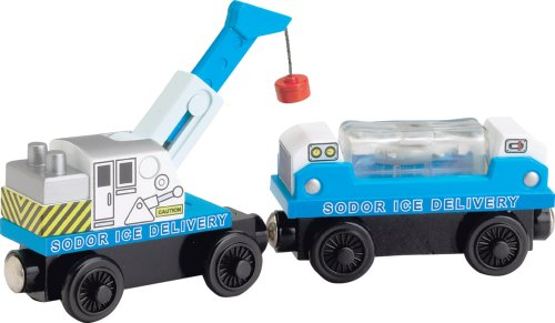 (Learning Curve Thomas & Friends Wooden Railway - Ice Delivery Train)