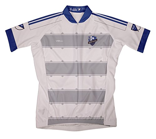 MLS Montreal Impact Men's Secondary Short Sleeve Cycling Jersey, XX-Large, White