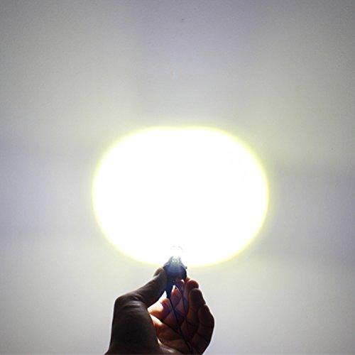 Alla Lighting 2504 PSX24W LED Fog Light Bulbs Super Bright PSX24W LED Bulb High Power 50W 12V LED PSX24W Bulb for 12276 2504 PSX24W Fog Light Bulbs Replacement, 6000K Xenon White (Set of 2) by Alla Lighting (Image #5)