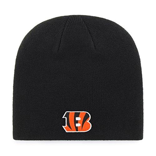 NFL Cincinnati Bengals OTS Beanie Knit Cap, Black, One Size Cincinnati Bengals Classic Football
