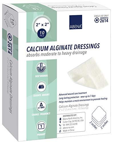 Abena Calcium Alginate Dressing, Sterile, 2