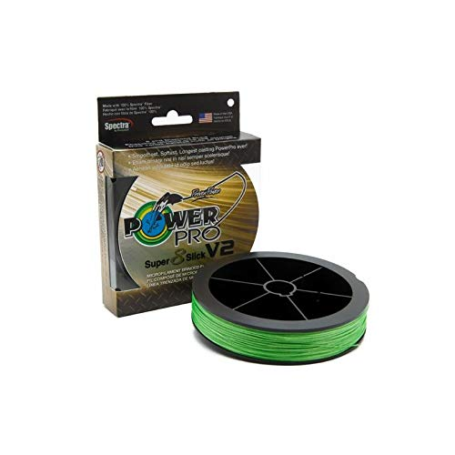 Power Pro 31500801500C SSV2 80 Lb 1500 Yd Aqua Green (80 Lb Slick)