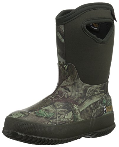 Review Rocky Baby RKYS064 Mid Calf Boot, Mossy Oak Break up Infinity Camouflage, 10 M US Toddler