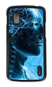 Google Nexus 4 Case,MOKSHOP Adorable Human Science Hard Case Protective Shell Cell Phone Cover For Google Nexus 4 - PC Black