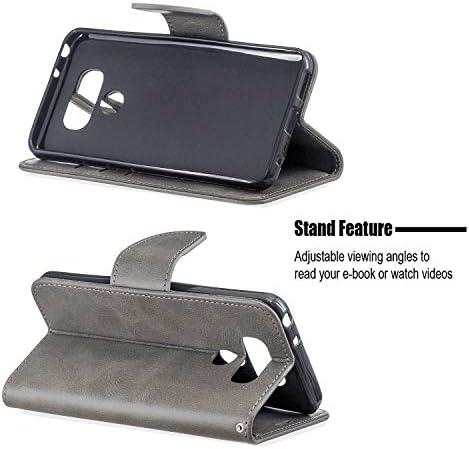 iPhone X レザー ケース, 手帳型 アイフォン X 本革 カバー収納 財布 耐摩擦 ビジネス 携帯カバー 無料付スマホ防水ポーチIPX8 Classical