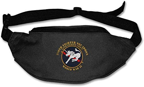 370th Fighter Squadron Wwii Unisex Outdoors Fanny Pack Bag Belt Bag Sport Waist Pack