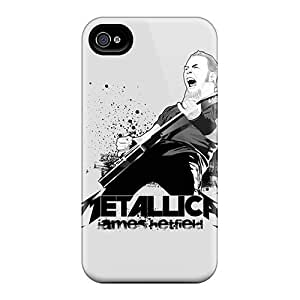 HTC One M8 - Slim Fit Protector Shock Absorbent Cases (metallica)