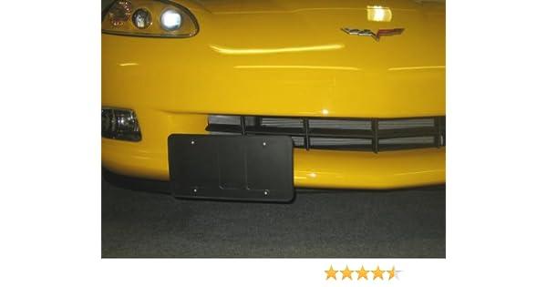 2005-2013 C6 Base Only Corvette Removable License Plate Bracket Holder Kit