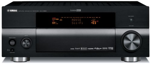 Yamaha RX-V1800BL 7.1-Channel Home Theater Receiver