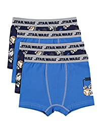 Star Wars Boys Boxers - Pack of 4 Kids Underwear