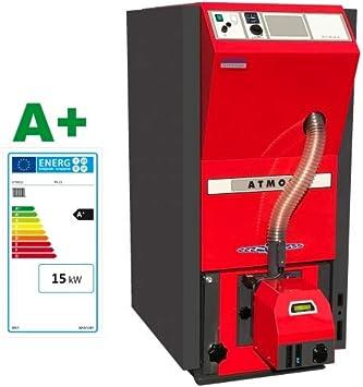 ATMOS Caldera de pellet tipo PX10-25 kW compacta de la serie de calderas de calefacción de pellets selección-PX PX15