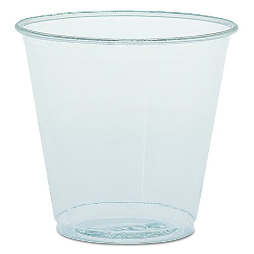 Solo TK35 3.5 oz Clear Plastic Cup (Case of 2500) -
