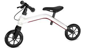 Audi Junior Runner Bicicleta sin pedales, color blanco