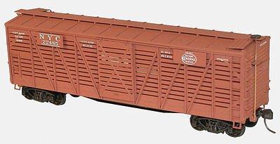 HO KIT 40' Wood Stock Car, NYC