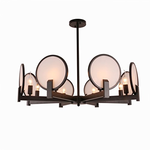 Rustic Chandelier Light With 8 Lights For Kitchen  Dining Room  Bedroom  Industrial Large Chandelier Beautiful Ceiling Lights With Excellent Design