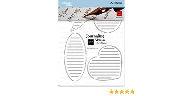Amazon Chatterbox Journaling Genie 2 Shapes