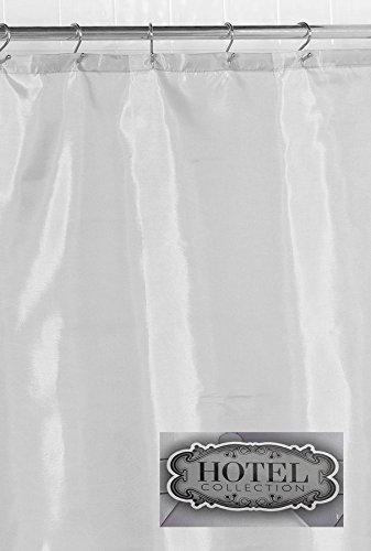 """Hotel Fabric Shower Curtain Liner Extra Long 70"""" wide x 96"""""""