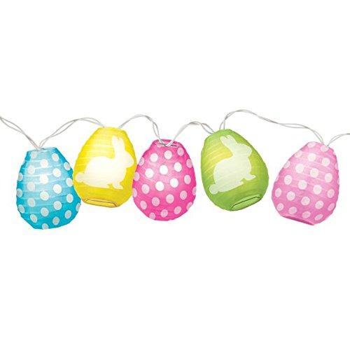 Easter Egg Lantern Electric Lights