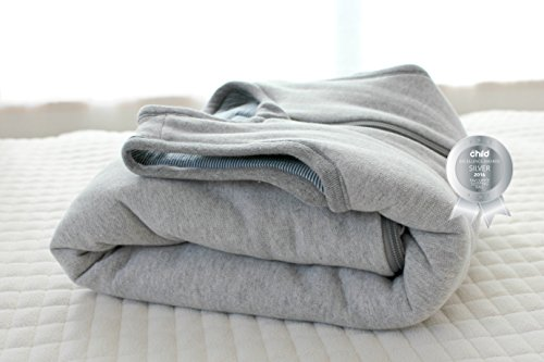 WINTER HIGH COUNTRY DELUXE MERINO baby Sleeping Bag/ Sleep Bag, 0-2 yrs old, Moonlight by SNUGBAGS - Made in NZ (Image #3)