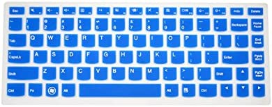 Please Compare Keyboard Layout and Model PcProfessional Blue Ultra Thin Silicone Gel Keyboard Cover for Lenovo Yoga 900 13.3 Laptop with Application Kit