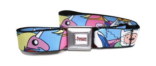 Adventure Time Seatbelt Belt - Main Characters