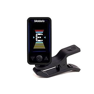 D'Addario Accessories Eclipse Headstock Tuner, Black