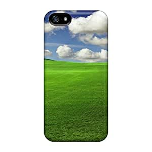 Hard Plastic Iphone 5/5s Case Back Cover,hot Grass Field Case At Perfect Diy
