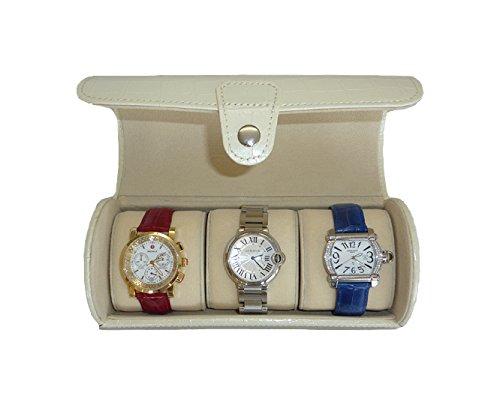 3-roll-travel-watch-case-off-white-croc-travelers-watch-storage-organizer-collector